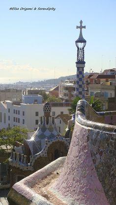 Parc Güell de Gaudi, Barcelone