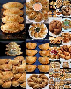 Everything you ever wanted to know about empanadas or turnovers. Easy recipes with photos for empanada fillings, empanada dough recipes, and dipping sauces.