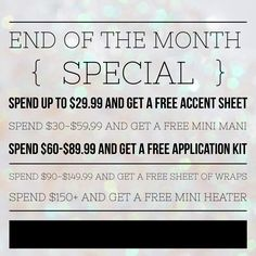 This is MY personal special from now until the end of August for my customers only! facebook.com/nicollejams #Jamberry #Jamberrydeals #jamberryfreebies
