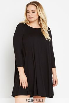 Best For Last Swing Dress Plus Size – Poshsquare