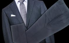 Can You Mix a Pinstripe Jacket with Plain Suit Pants?  http://www.menshealth.com/style/pinstripe-jacket-plain-pants