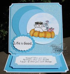 Cool Cat by Kushabella - Cards and Paper Crafts at Splitcoaststampers