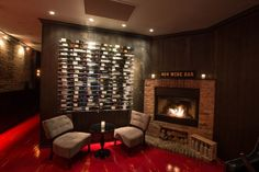 The Big Chicago 10: Hottest Spots To Enjoy A Fireplace: 404 Wine Bar