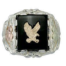 Erotic Ring Starling Silver Ring Power Ring Silver Eagle Ring Eagle Man