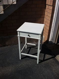 Cute shabby chic finished table just finished!  $85
