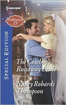 The bride wore...running shoes? When Lady Chelsea Ashford Alden falls from grace and the British paparazzi won't leave her alone, her only hope is to seek refuge in Celebration, TX. No one will think to look for her there. The last thing she needs is to meet a tall, dark and hunky cowboy who threatens to blow her cover. Ethan Campbell doesn't know Chelsea's secret, and if she tells him, he might be the one who runs.