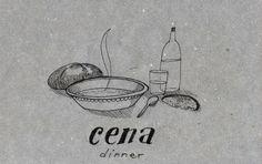 Learning Italian Language ~ Cena (dinner) IFHN
