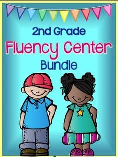 Fluency centers that students practice building sentences.  Your students will love the silly sentences that they make.  Great practice for Dibels.  (paid)