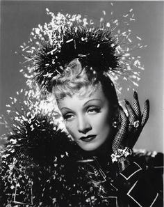 Marlena Dietrich, 1940's, photo by George Hurrell.
