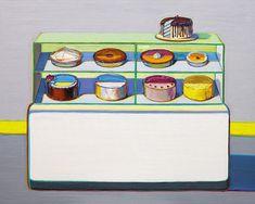 Wayne Thiebaud; Cold Case, 2010–13.