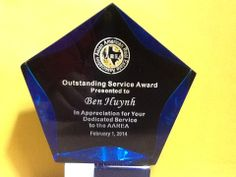 Award  February 1, 2014. Houston TX  #Ben Huynh +ben huynh