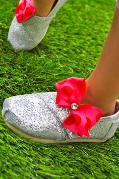 Who doesn't love embellished toms?