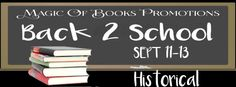 REJOICE! The children are back in school.For those who live to readhere are some awesome books provided by the incredible authors who wrote them. All in celebration of the new school year.While a few of these books might be oldies but goodiesothers could be new and fresh off the presses.Relax and find your new favorite author.     HISTORICAL  Historical in traditional literary terms is when the plot takes place in a setting located in the past. Historical fiction can be an umbrella term…