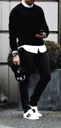 41 Best Men denim shirt images | Denim shirt, Mens fashion