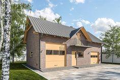 projekt G308 - Budynek garażowo - gospodarczy PRA1338