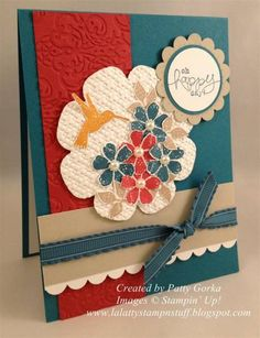 Bloomin Flowers by LaLatty - Cards and Paper Crafts at Splitcoaststampers