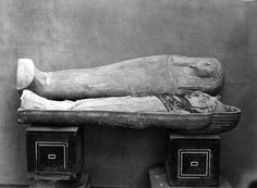 Coffin with mummy of Ahmose I. From the Royal Cache in Deir el-Bahri.