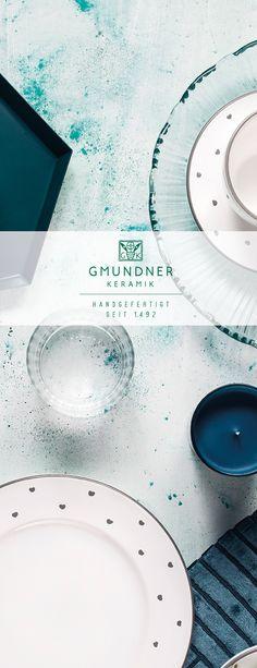 Entdeckt unser neues Design Herzerl Grau Plates, Tableware, Sweet, Design, Handmade, Gray, Licence Plates, Plate, Dinnerware