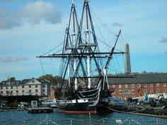 "U.S.S Constitution ""Old Ironsides"".  I've actually sailed through Boston Harbor in this ship."