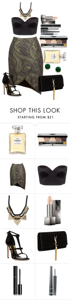 """Untitled #1265"" by fabianarveloc on Polyvore featuring Chanel, Bobbi Brown Cosmetics, Ultimo, Pieces, Burberry, Sebastian Milano, Yves Saint Laurent, MAC Cosmetics and Kate Spade"