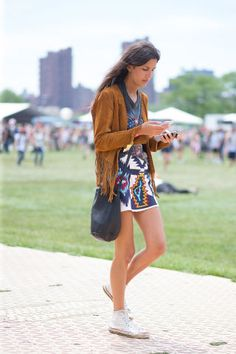 32 of the best street style from the Governor's Ball.