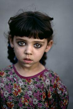 Augenfarbe Bedeutung schwarze augen orient syria