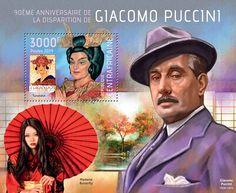 """CA 14120 b Giacomo Puccini (""""Turandot"""")"""