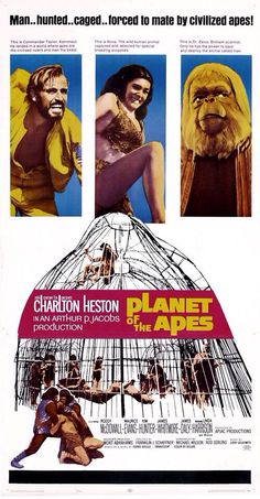 Planet of the Apes promotional poster (1968)