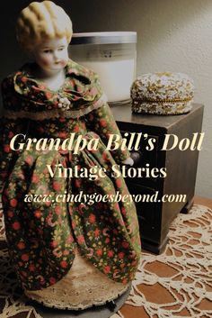 Grandpa Bill's Doll - Cindy Goes Beyond Vintage Dolls Lowbrow China Doll Hertwig Lowbrow China Doll Vintage China Dolls China Dolls, Childhood Toys, Vintage China, Vintage Dolls, Baby Toys