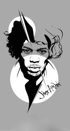 ☆ Jimi Hendrix :→: Artist Panji Hamonangan ☆