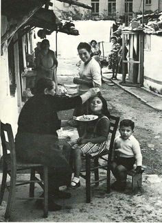 Old Athens.      Yiayia always made sure you had enough to eat and that you did eat...even when you already told her a 100 times you weren't hungry                                                 …