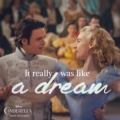 A wonderful dream come true: Cinderella is now available on Blu-ray™, Digital HD & Disney Movies Anywhere! Cinderella 2015, Cinderella Live Action, Cinderella Quotes, Cinderella Movie, Cinderella Outfit, Walt Disney, Disney Love, Disney Magic, Disney Pixar