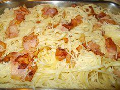 Cookbook Recipes, Cooking Recipes, Macaroni Pie, Mediterranean Recipes, Greek Recipes, Hawaiian Pizza, Food To Make, Cabbage, Spaghetti