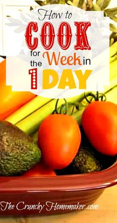 Do you want to know how to cook for the week in one day? I'll share my tips and ideas on how I pull it off. This is a simple strategy to save you time later in the week.