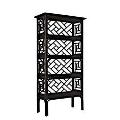 "David Francis Furniture Chinese 69"" Etagere"