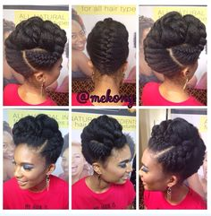 Gorgeous Black Women Hairstyles, Afro Hairstyles, Natural Hairstyles, Natural Hair Styles For Black Women, Natural Hair Care, Braided Buns, Dreadlocks, Lisa, Braids