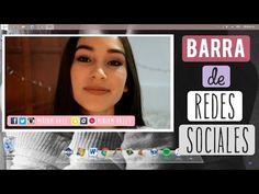Como hacer/poner tus redes sociales en un video - YouTube