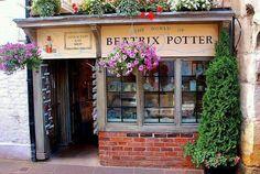 Beatrix Potter storefront , Gloucester , UK
