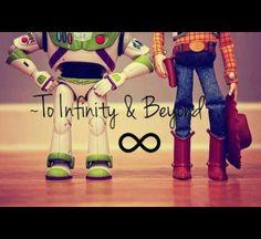 Toy Story - Woody and Buzz Walt Disney, Disney Love, Disney Magic, Disney Pics, Disney Ideas, Disney Family, Cumple Toy Story, Festa Toy Story, Disney Pixar Movies