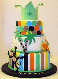 Animal Cake By Thesweettalk on CakeCentral.com