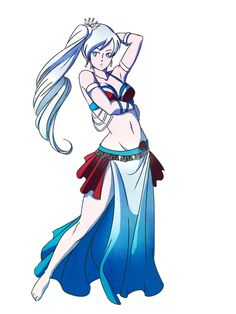 RWBellydance: Weiss by TheStrayLiger