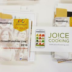 Joice of Cooking at #CrowdFundHer Live 2016  #startup #Singapore #foodtech #woomentum