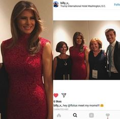 June 29, 2017 Melania in pink lace dress for Republican Party fundraiser in DC