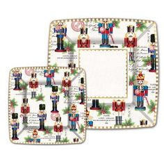 Michel Design Works Nutcracker Sweet Paper Plates,