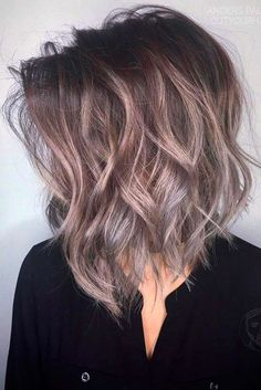 Try one of these 18 funky medium length hairstyles for thick hair. Thicker hair can be a pain to style, but with the right cut you can look like a goddess. * Check out this great article. #Hairstyles