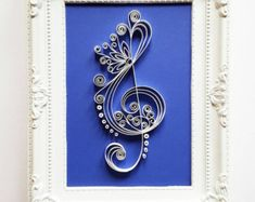 """Quilled Paper Art: Cross Handmade Artwork Paper by Gericards"""