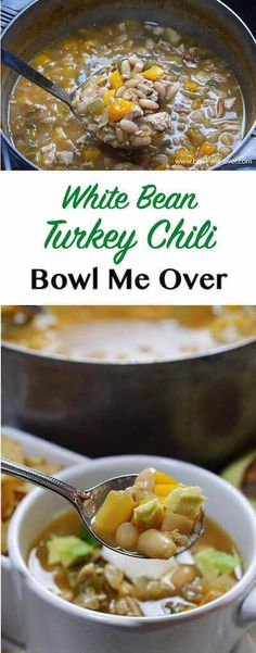 White Bean Turkey Chili is dinner tonight and a completely different meal tomorrow.  Plus it freezes great! Easy-peasy, let's get cooking!