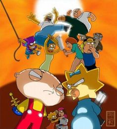 Funny pictures about Epic Battle. Oh, and cool pics about Epic Battle. Also, Epic Battle photos. Ryu Street Fighter, Funny Images, Funny Photos, Best Funny Pictures, Games Online, Stewie Griffin, Fanart, Family Guy, American Dad