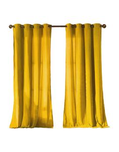 U003culu003e U003cliu003eVelvety Window Panels Adds A Pop Of Color To Every  Mustard Yellow Curtains