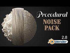 Free Procedural Noise Pack for Blender - BlenderNation Blender 3d, Blender Models, Blender Addons, Wolverine Poster, Animation Reference, 3d Animation, Blender Tutorial, Shots Ideas, Tech Art